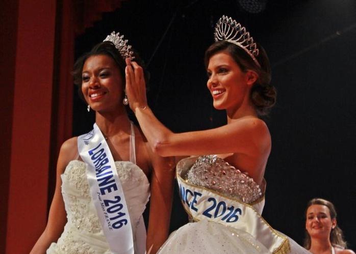Justine Kamara élue Miss Lorraine 2016 à Vittel