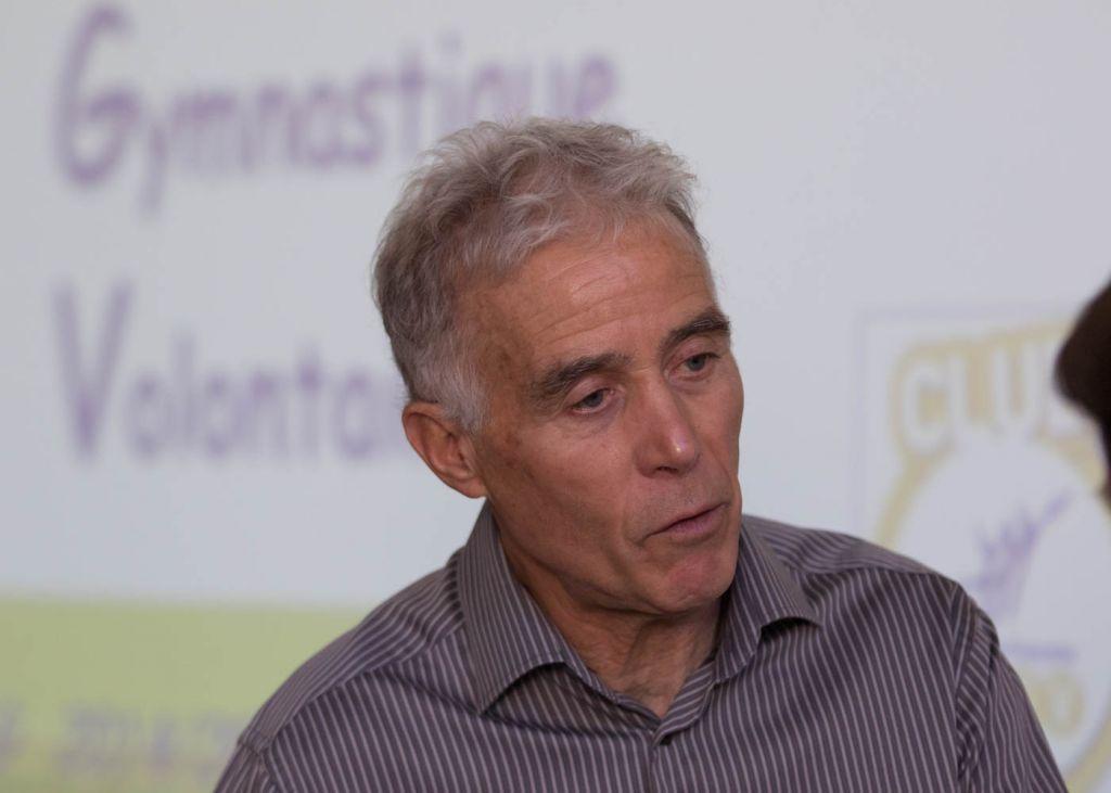 Le président Michel Curaillat