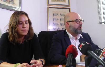 maîtres Stéphane Giuranna et Laure Iogna-Prat, les avocat de Marcel Jacob