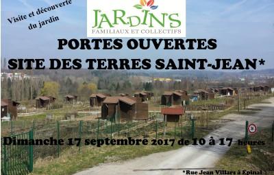 Portes ouvertes le 17 septembre 2017 Terres Saint Jean à Épinal -