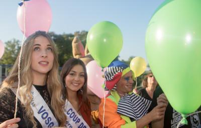 Chloé Mougeolle, Miss Vosges 2017 a assisté à la manifestation