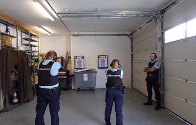 (photographies gendarmerie des Vosges)