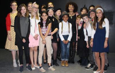 Groupe avec Mariette Monpierre