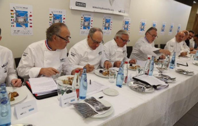 Le jury était composé de quinze chefs renommés dont le président était Philippe Mille. (Crédits photographiques Pascal Bodez)