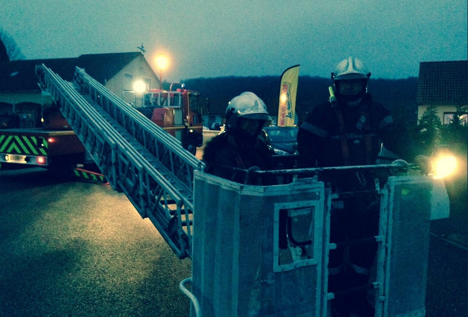 (photographie sapeurs-pompiers des Vosges)