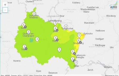 (carte Atmo Grand Est)