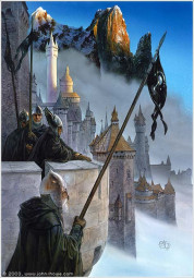 Watchful Peace Format: 40.0 x 56.0 Signed, dated 1990 The Return of the King by J. R. R. Tolkien HarperCollinsPublishers,1990