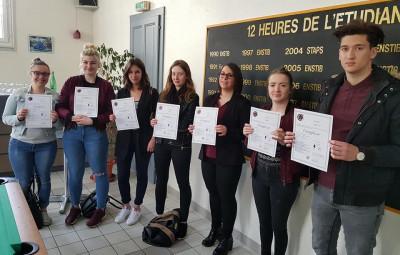 élèves certifiés