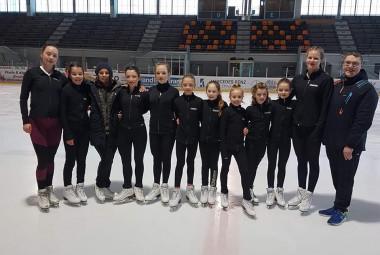 équipe glace