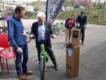 Benoit jourdain en vélo