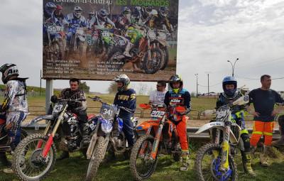 Moto départ Fontenoy
