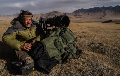 Vincent au Tibet (Crédit photographique Vincent Munier) © JMT