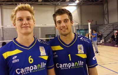 frères Riblet au SAS volley
