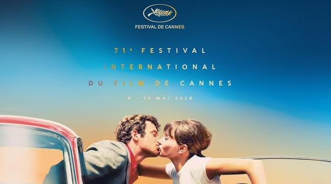 L'affiche de la 71e édition du Festival de Cannes. — FESTIVAL DE CANNES