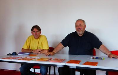 Christophe Grange et Hervé Poirat