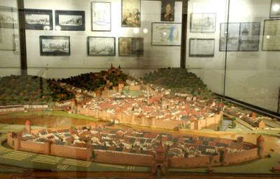 La maquette d'Epinal (photographie d'archives)
