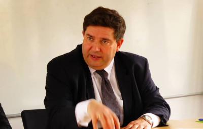 Dominique Peduzzi, président de l'association des maires des Vosges (photographie d'archives)