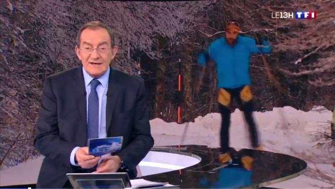 capture d'écran 13h de TF1