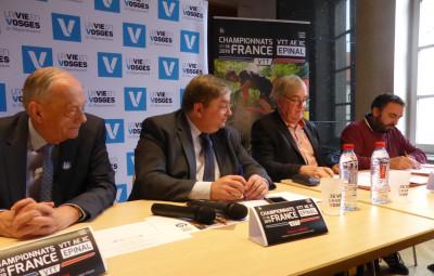 La Fédération française de cyclisme et La Vôge VTT signent une convention de partenariat pour l'organisation des championnats de France 2019 de VTTà assistance électrique à Epinal