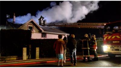 Incendie Capavenir-Thaon Route Oncourt 5