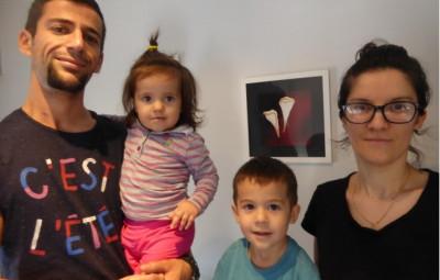 Armand et Marbela DHEMBI et leurs enfants Avni et Amelia, 12 rue Irène Joliot-Curie à Épinal