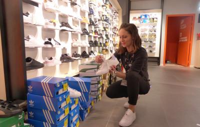 Aurélie Gremillet, Responsable du magasin Courir Epinal