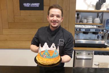 Julien Lambert, pâtissier à Epinal.