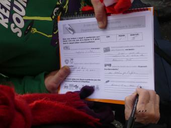 pétition demande AVP