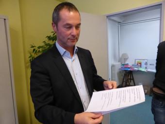 Stéphane Viry, député d'Epinal