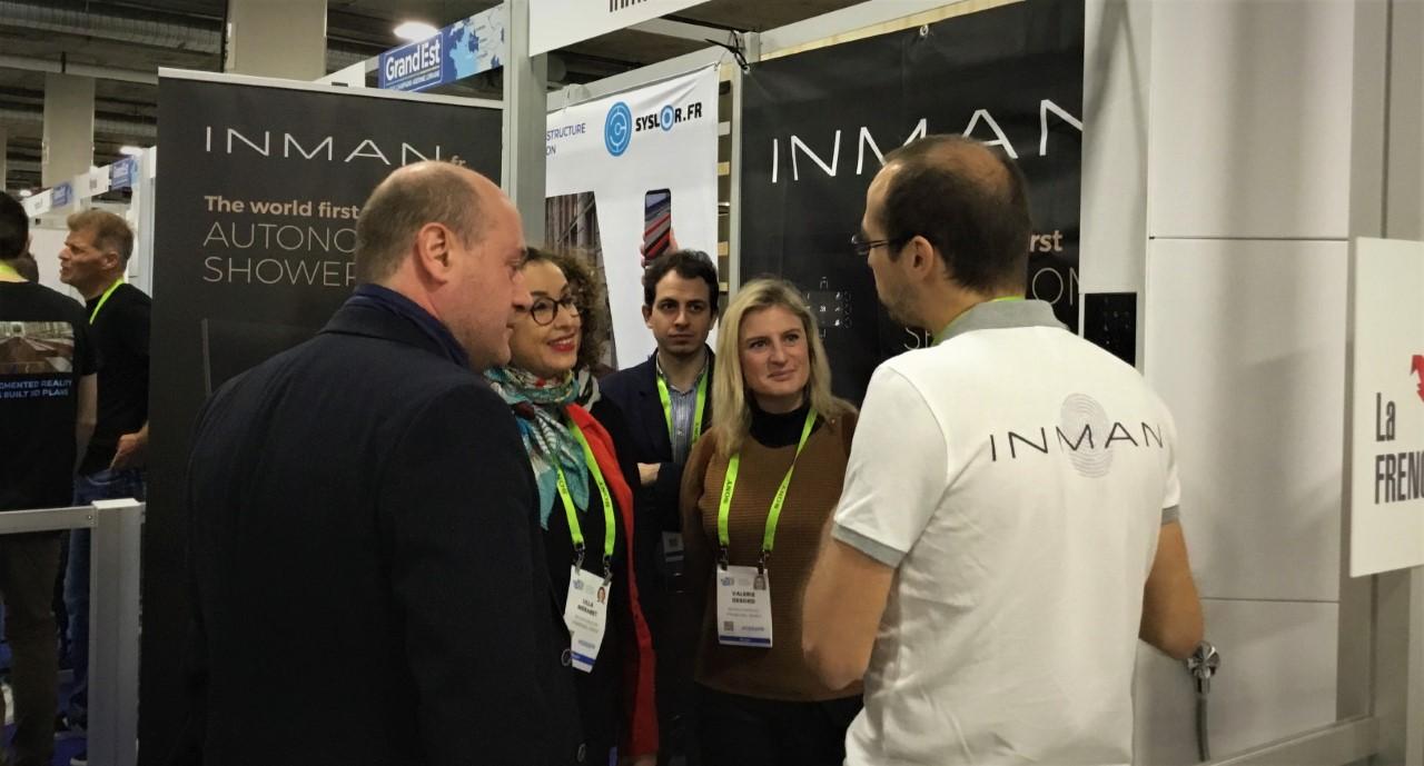 Ces Las Vegas 2019, InMan - Remy Sadocco, Lilla Merabet,ValerieDebord