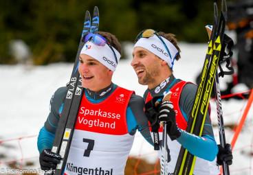 Antoine Gerard et Maxime Laheurte