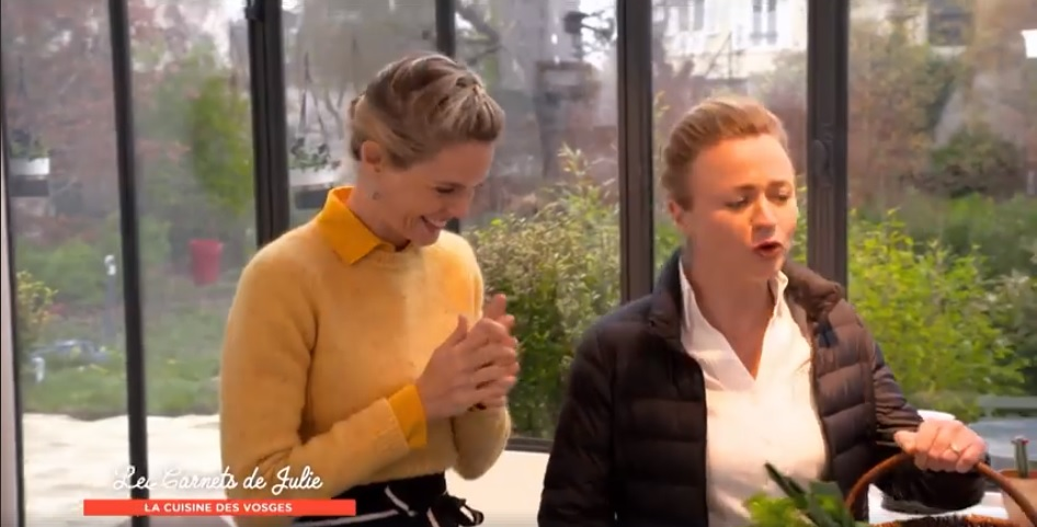 capture d'écran Les Carnets de Julie dans les Vosges