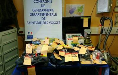 (Crédit photographique Gendarmerie des Vosges)