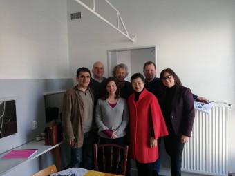 Les sept membres du jury.