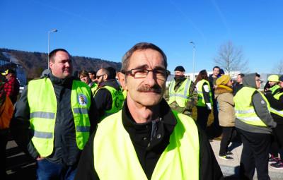 M. Padox, vice président de l'association Gilets Jaunes Vosges 88