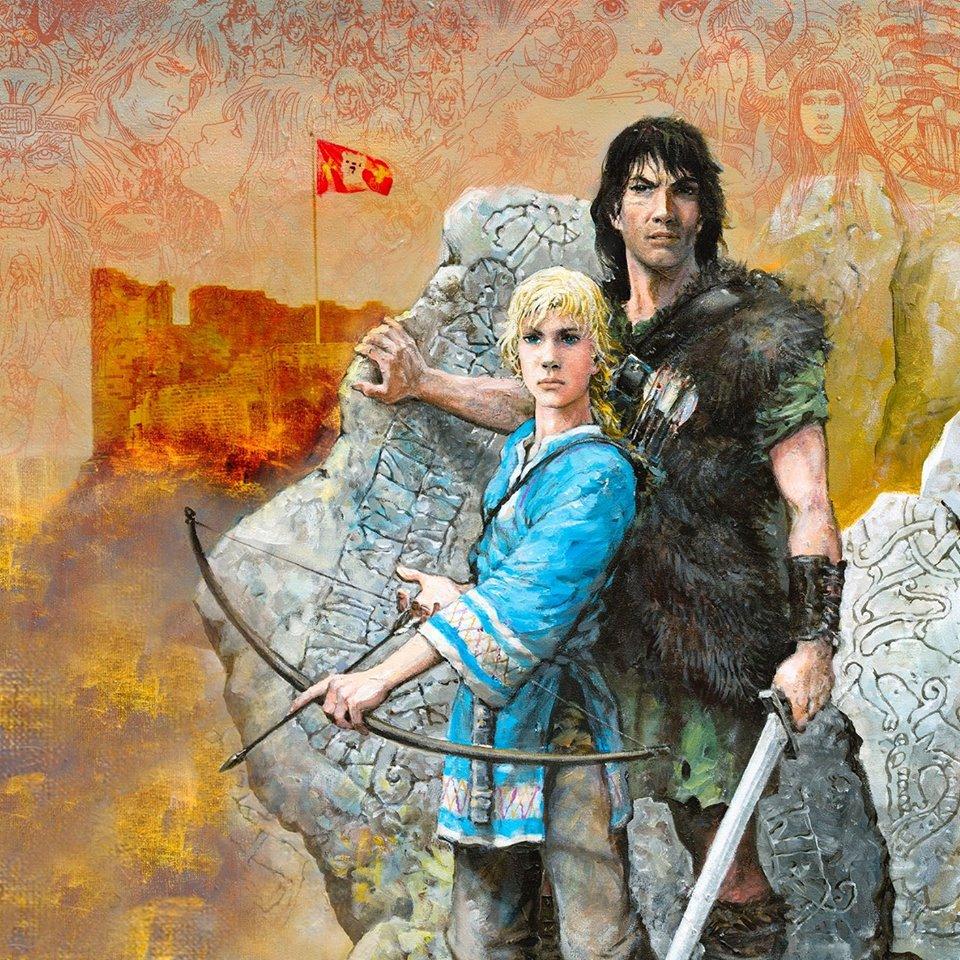 Illustration : Thorgal & Jolan || Grzegorz Rosinski et Piotr Rosinski