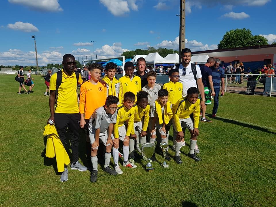 Football tournoi U13 de Golbey [vidéo]