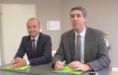 Maître Ludovic Vial et Maître Cyrille Gauthier