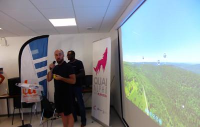 Mathieu Blanc et Jonas Limon, les deux créateurs de Welcomni