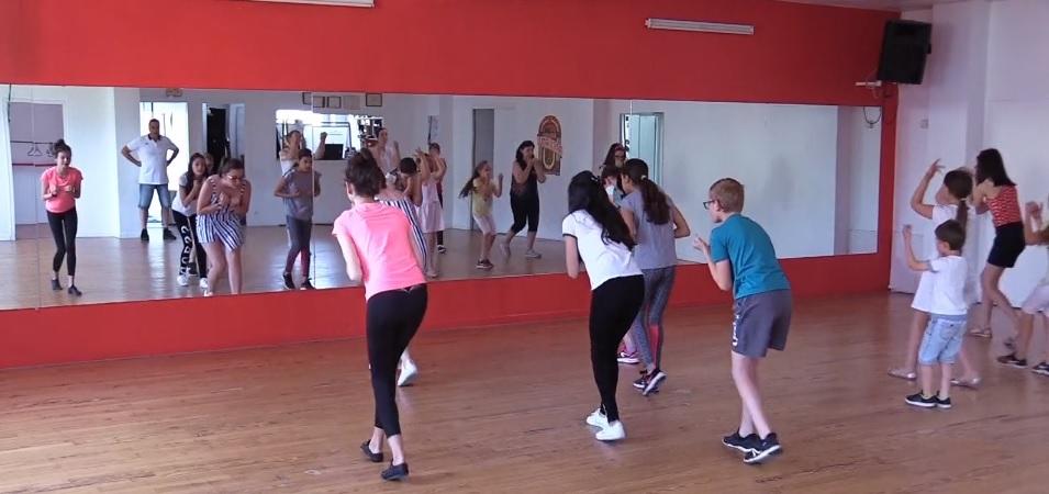 capture d'écran flash mob