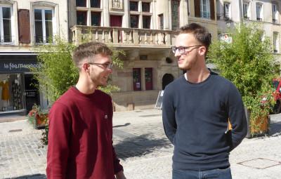 Clément Jantel et Vincent Marquis