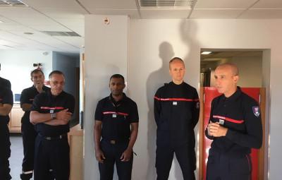 photographie sapeurs-pompiers des Vosges
