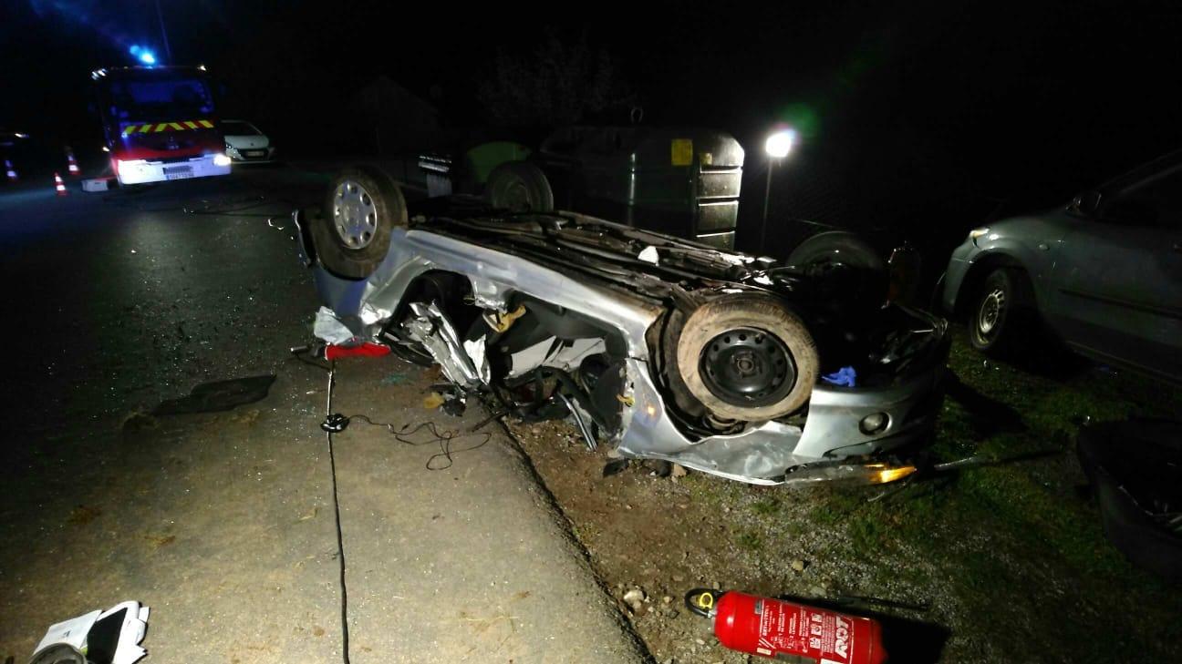 Vosges - Un jeune conducteur de 22 ans décède dans un