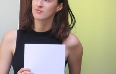 Morgane Philippe, la gagnant du concours de mapping