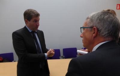 Mathieu DARNAUD Sénateur de l'Ardèche Rapporteur du Projet de loi « Engagement et Proximité » et Daniel Gremillet