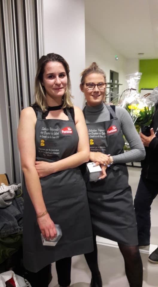 Trophée de la vente en boulangerie : Célia Varin du CFA d'Epinal remporte le 1er prix !