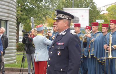 installation du commissaire divisionnaire Antoine Bonillo (60)