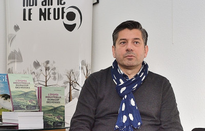Damien Parmentier a animé un café-histoire autour de son nouveau livre « L'épopée industrielle du massif des Vosges », samedi dernier à la Librairie Le Neuf.