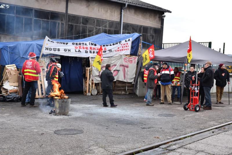 photo d'archives Syndicat CGt cheminots Epinal
