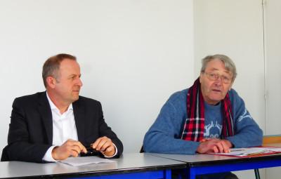 Fabrice Pisias et Jean-Claude Lacour